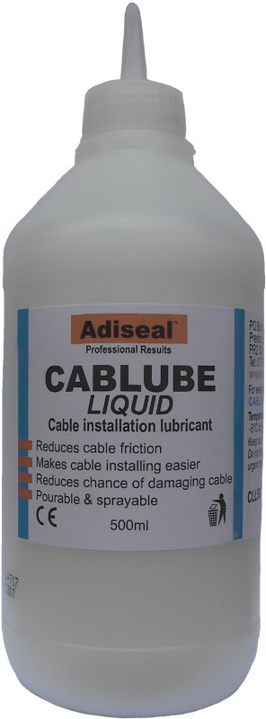cable puling lubricant liquid