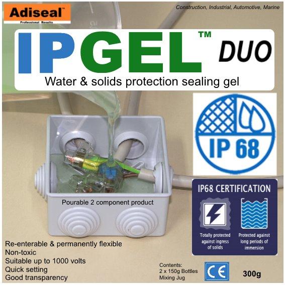 IPgel Duo electrical waterproof gel
